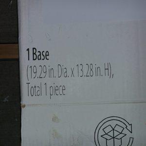 Hometrends 14 Kg Polyresin Umbrella Base