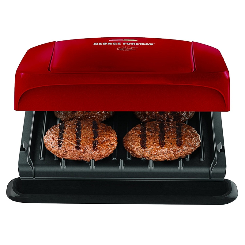 Lot 1338d george foreman 4 serving grill with removable plates rhino bargain - Health grill with removable plates ...